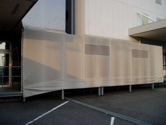 工業用テントの制作事例
